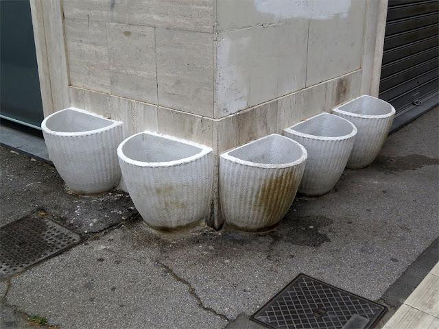Planters, Via Cairoli / Via dei Fanciulli, Livorno