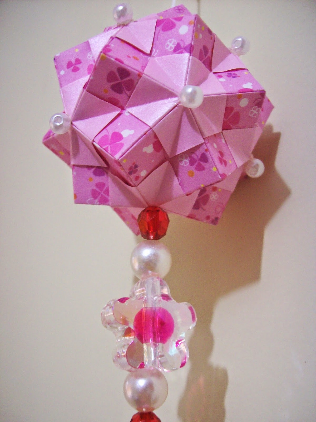 Kusudama Spring Rosa