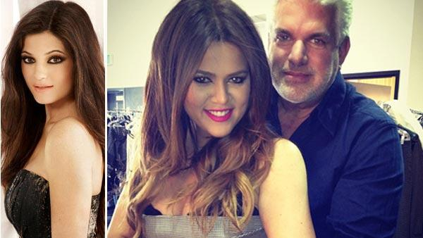 Khloe Kardashian With Her Real Dad
