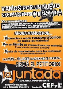 REGLAMENTO DE CURSADA
