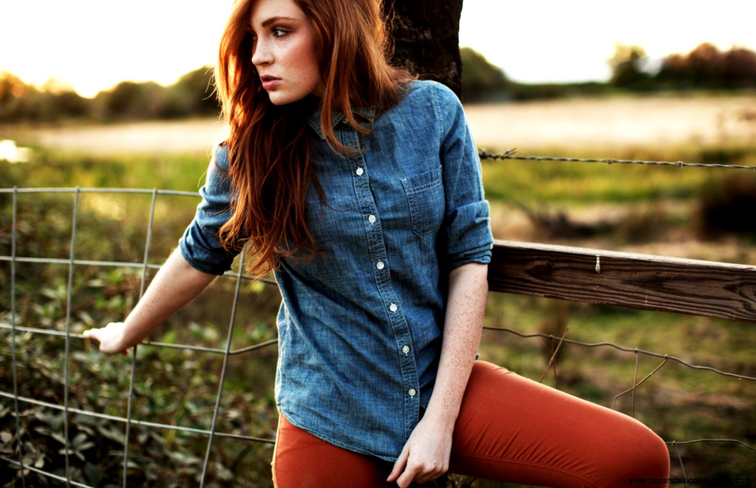 Lovely Redhead Girl Glasses Photography 6971513