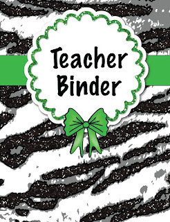 Photo of Wolfelicious Teacher Binder