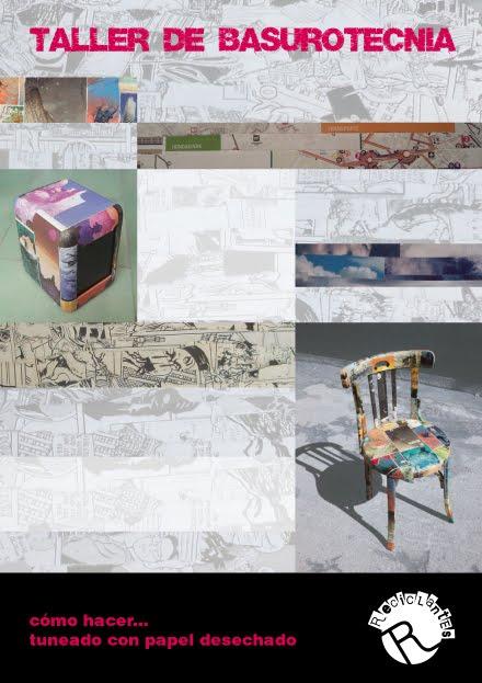 BASUROTECNIA: Cómo tunear con papel desechado