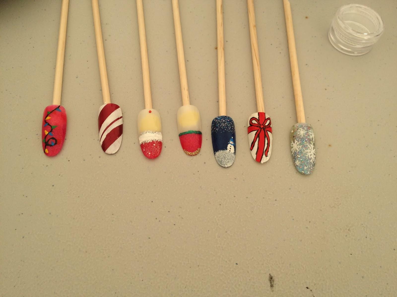 Ateliers nail art Décembre et Janvier14