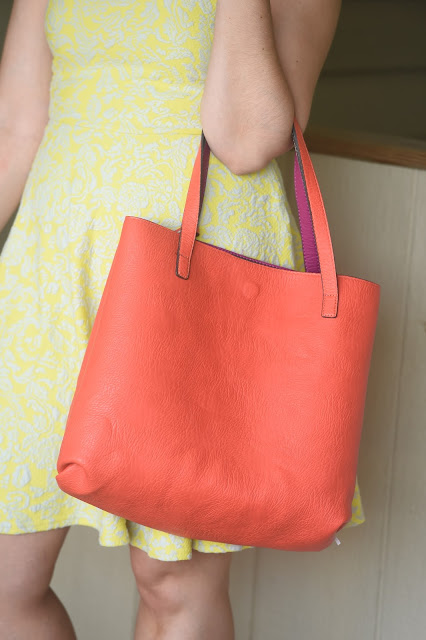 Stitch Fix, Style, Samantha Chic, unboxing, subscription box, Street Level, oversized tote, BRIXON IVY, crochet, skirt, a-line, dress, Daniel Rainn, blouse, reversible tote, review