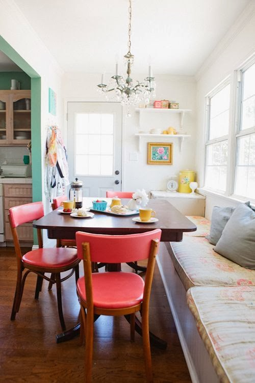 Mustard Decor Dining Room