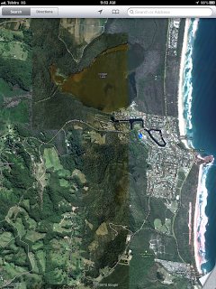 Area of consideration for Cabarita Beach / Bogangar Integrated Recreation Trails community group