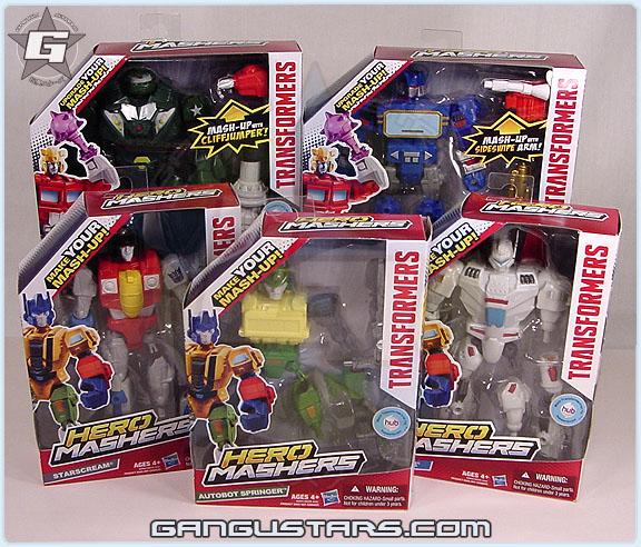 トランスフォーマー ロディマス コンボイ Transformers Hero Mashers Jetfire Bulkhead Springer スタースクリーム Starscream バンブル Hasbro