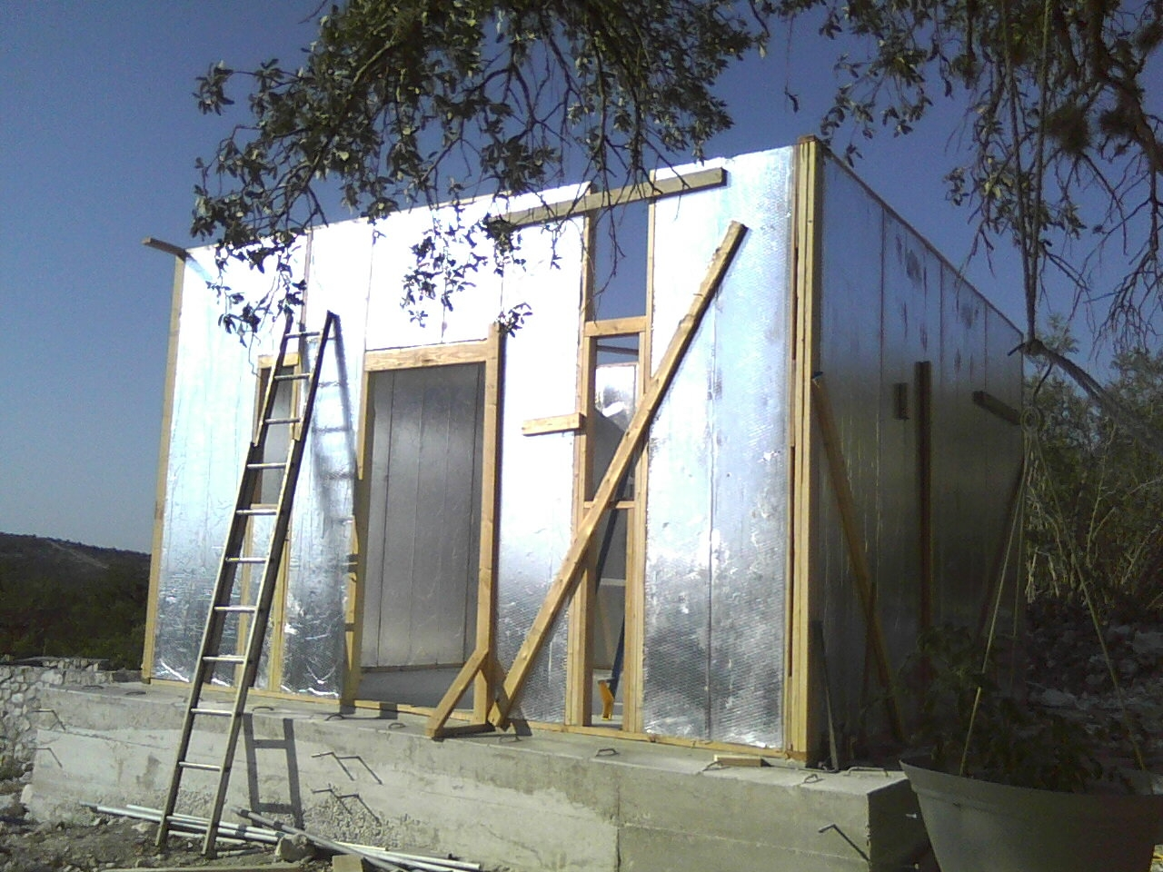 Structural insulated panel diy with ray core a quaint for Diy sip panels