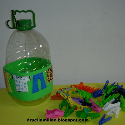 Porta Prendedores De Roupa   Reciclagem