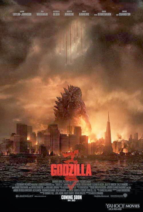 Godzilla opens this Friday, May 16, 2014
