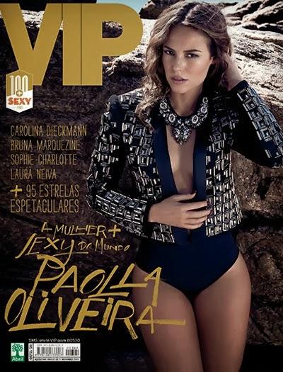 Revista Vip Paola Oliveira e as 100+ Sexy Novembro 2013