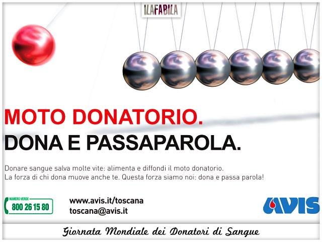 Giornata Mondiale dei Donatori di Sangue