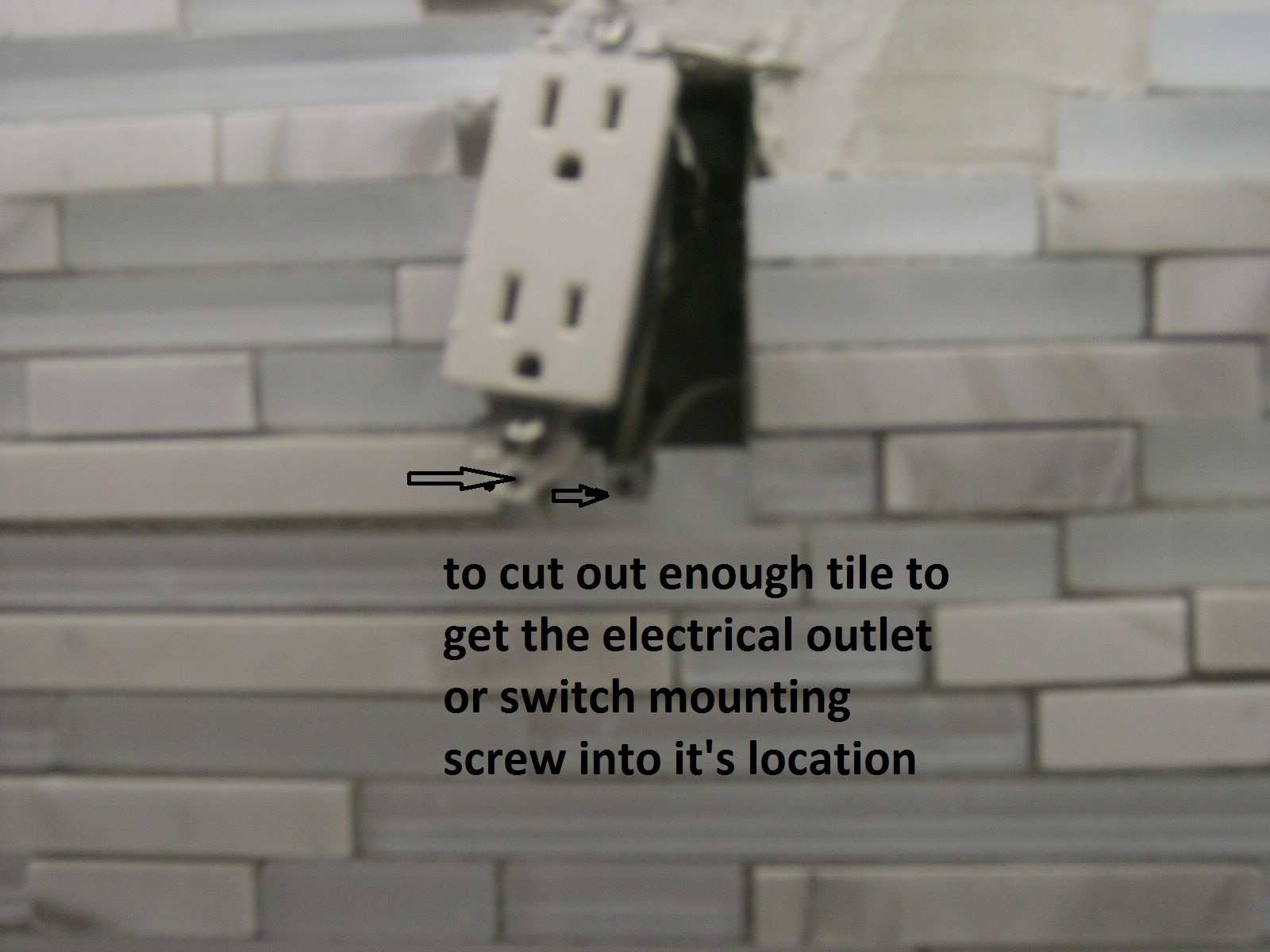 Tips For Tiling Around Electrical Outlets