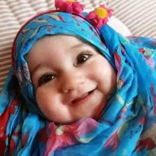 Foto Anak Perempuan Cantik Pakai Jilbab