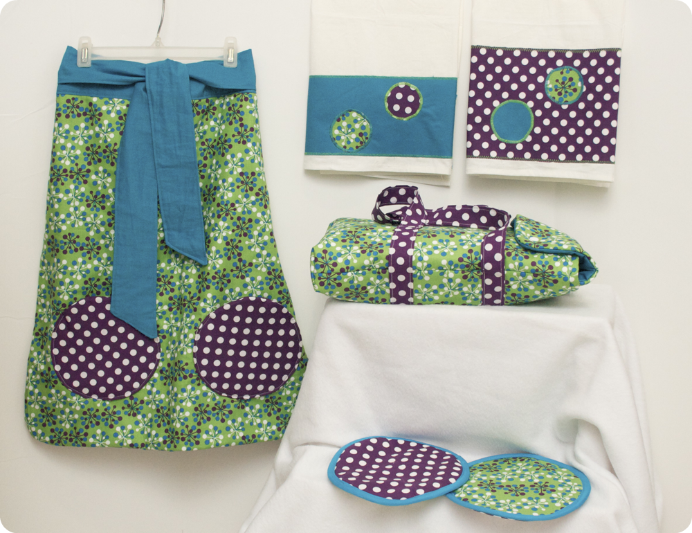 Sew Can Do Free Project Patterns Mod Kitchen Set