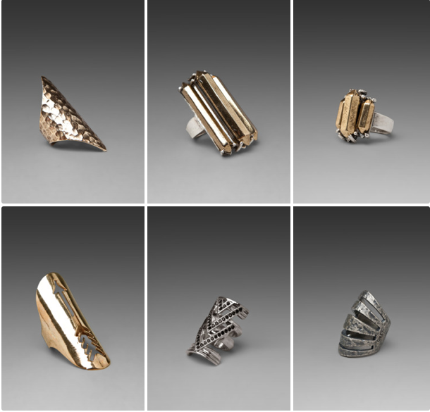 TRENDING: Major Metal Statement Rings