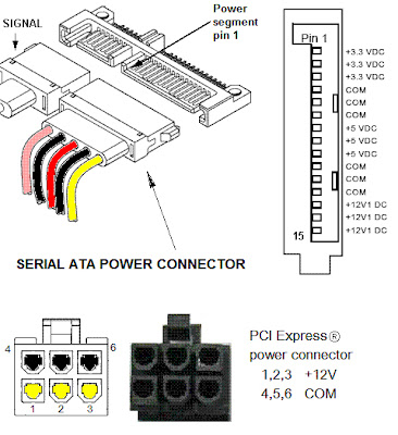 SATA Power COnnector circuit