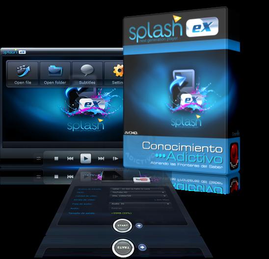 Mirillis Splash Pro EX 1.13.1 - Reproductor de Video optimizado para