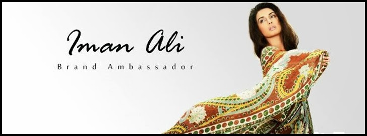 Iman ali the new face of lala textile brand ambassador 2014