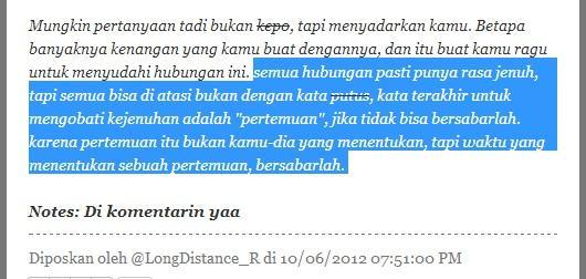Kata-kata Mutiara,motivasi dll: LDR : Long distance relationship ...