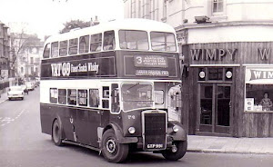 Bus at Southsea 1950's