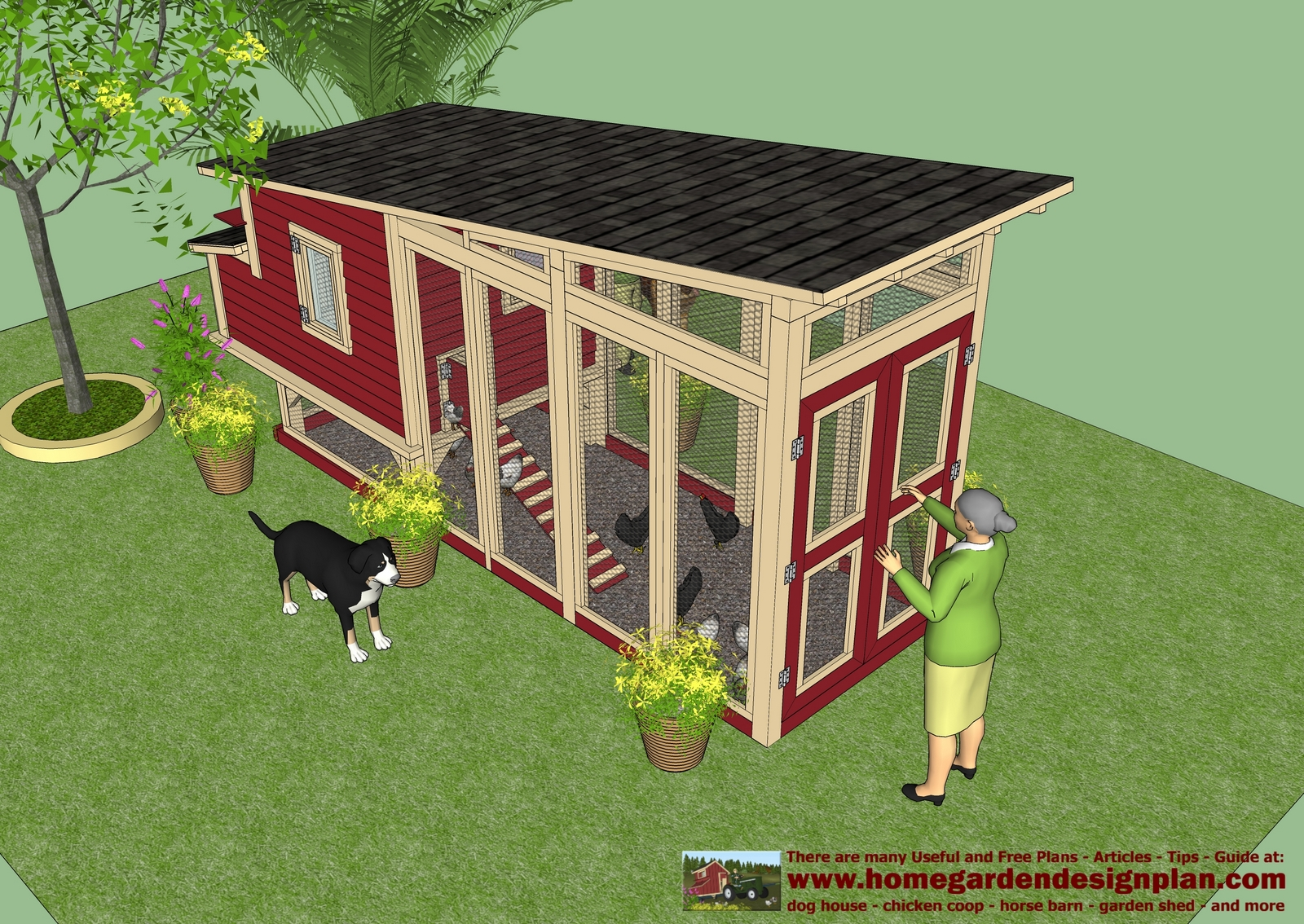 Home garden plans m100 chicken coop plans construction for Free coop plans