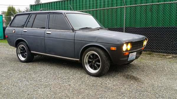 1971 Datsun 510 Wagon Project | Auto Restorationice