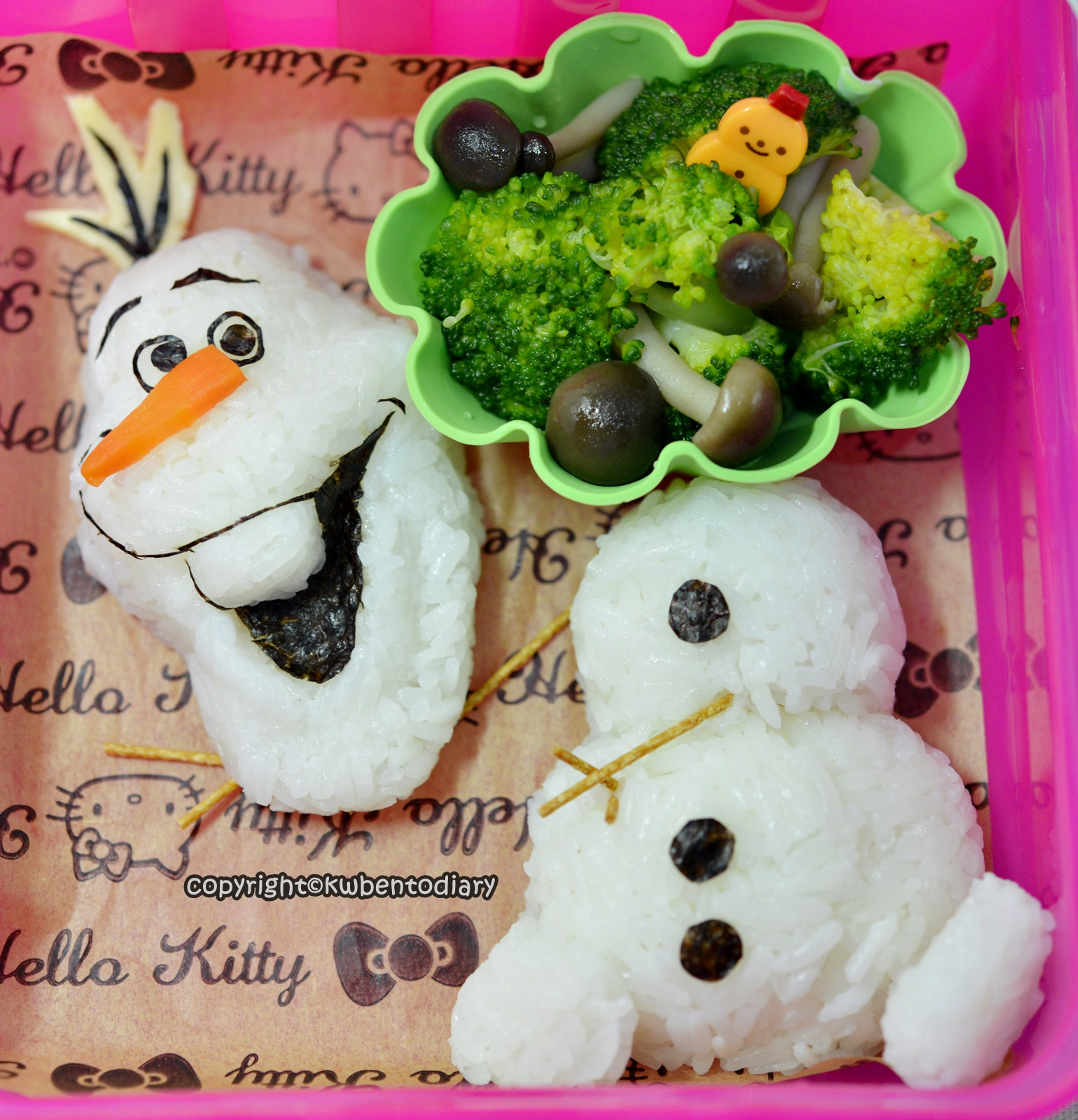 olaf bento lunch box olaf bento japan bento food art pinterest olaf 35 945 bento salads and. Black Bedroom Furniture Sets. Home Design Ideas