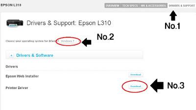 Cara melakukan Download Driver Printer Epson L220