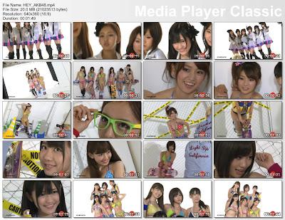 [VYJ] No.104 Walk This Way Hey AKB48 Video Clip