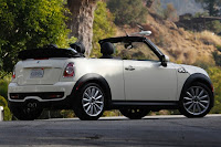 2015 New Mini Convertible More Power back view