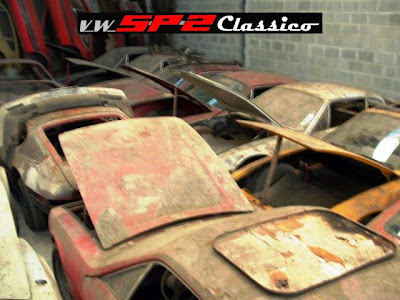 Barn find Volkswagen SP2