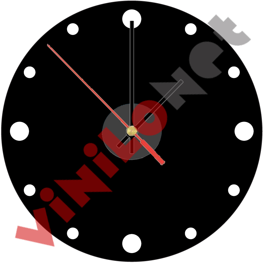 Reloj de pared moderno vinilo decorativo pegatina paredes - Relojes de vinilo ...