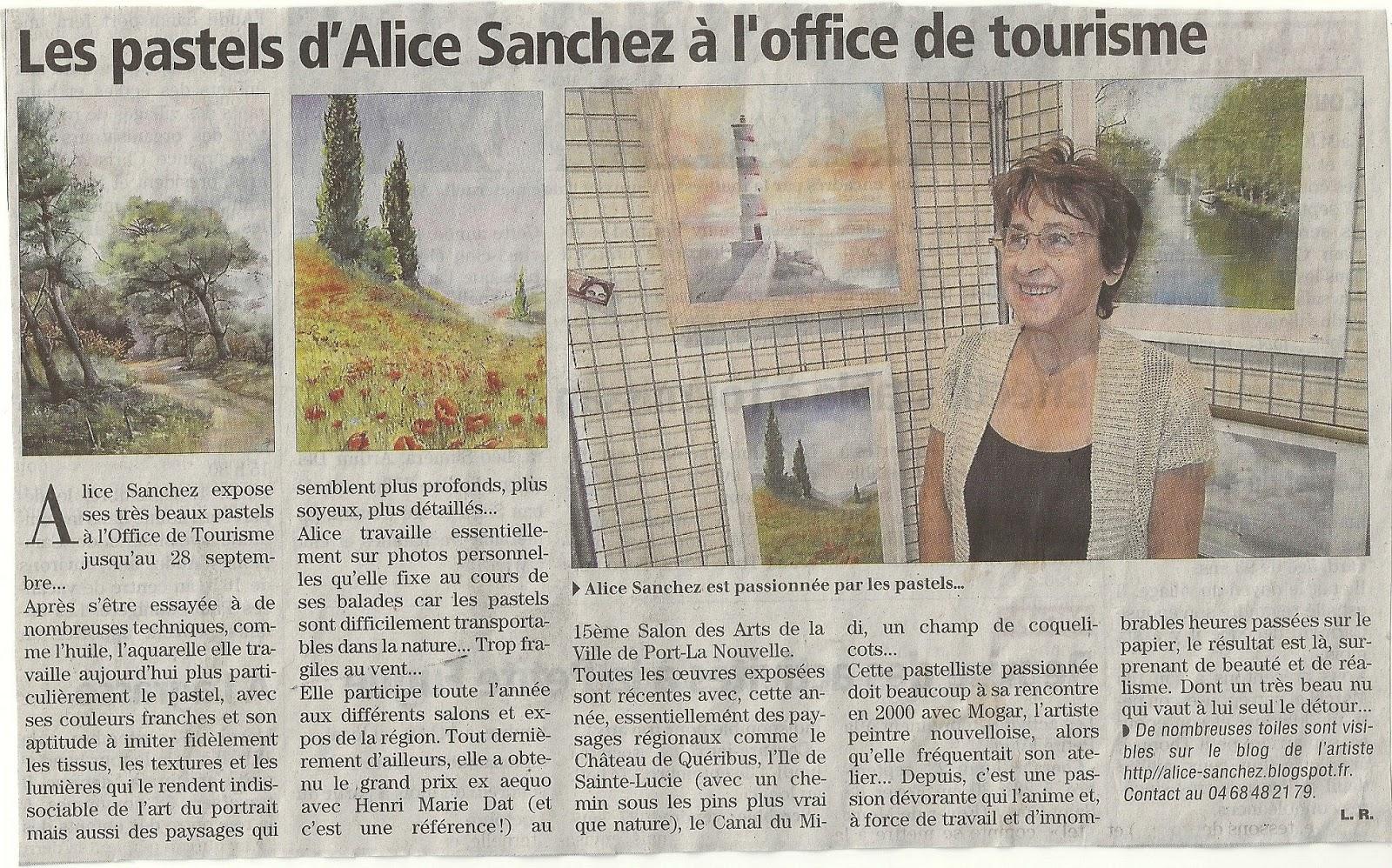 Traces de pastel expo l 39 office du tourisme de port la nouvelle - Office de tourisme port la nouvelle ...