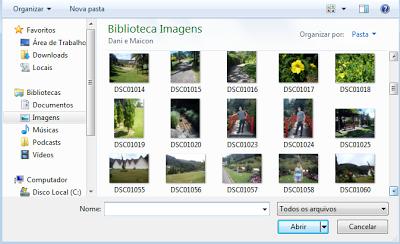 Escolhendo Foto