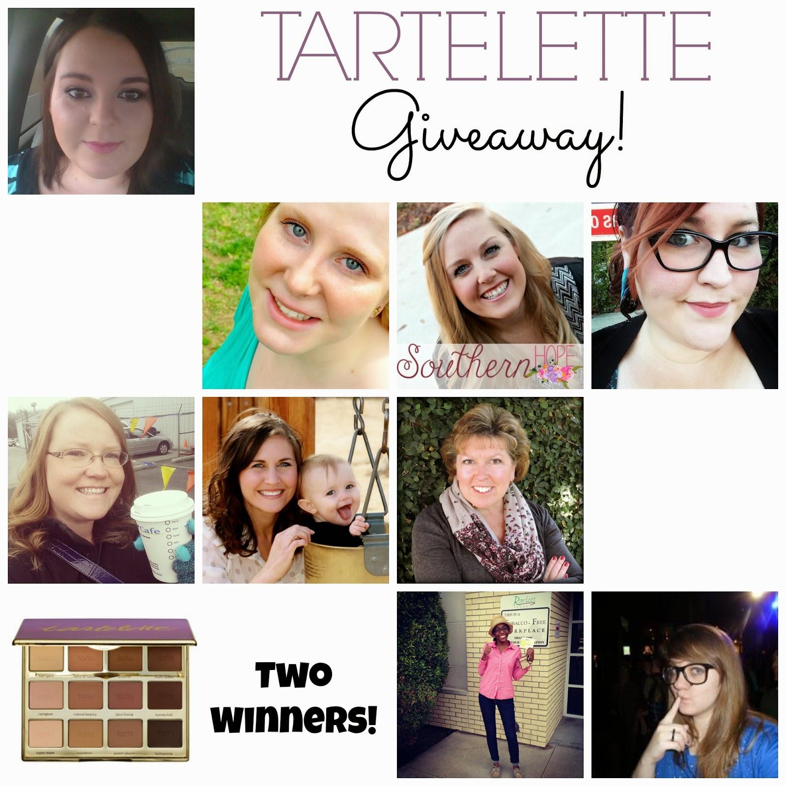 Tarte Giveaway, Tartelette, Giveaway, Win Tarte,