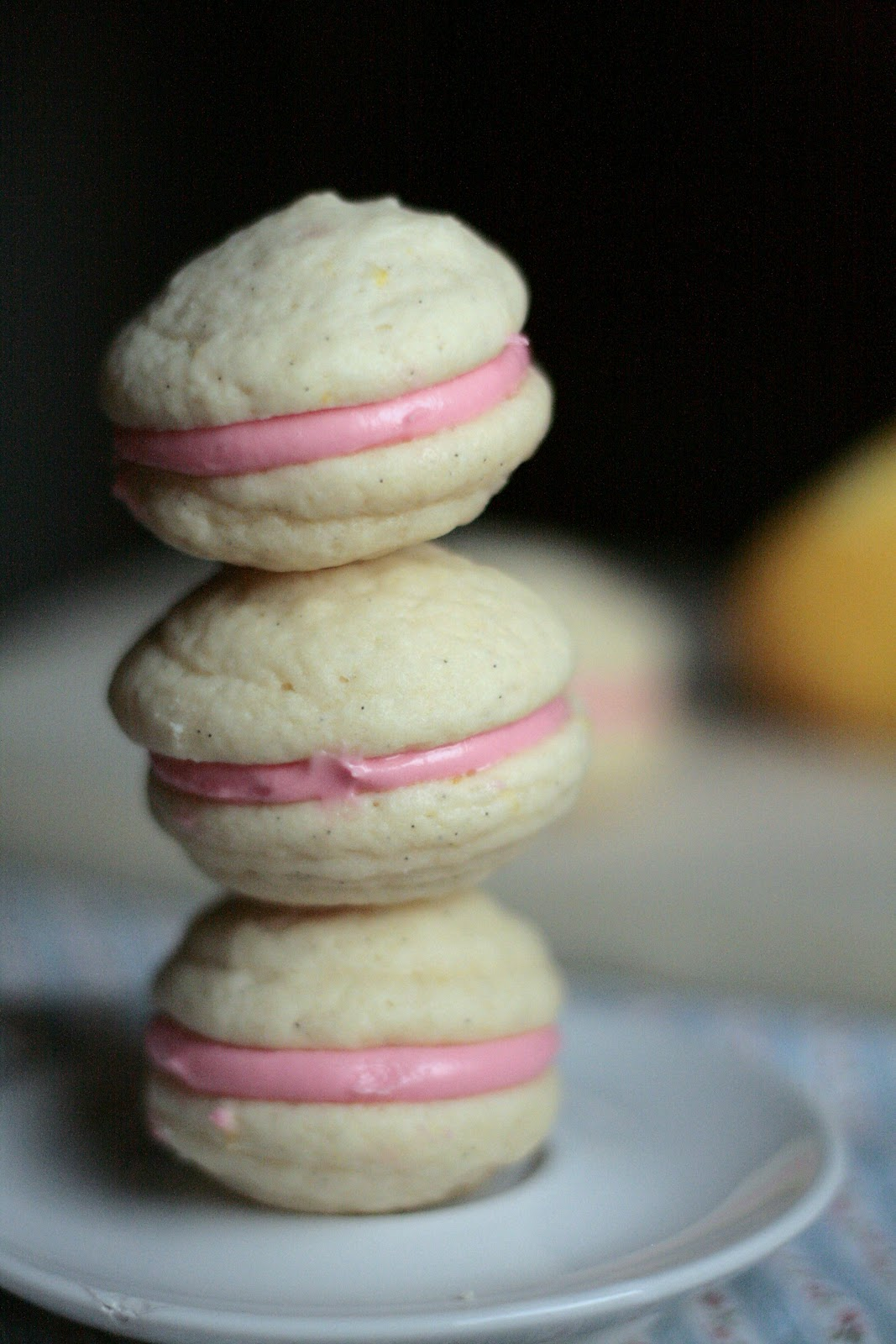 ... Raspberry Lemon Cream Cheese Whoopie Pies {Guest Post from Indigo