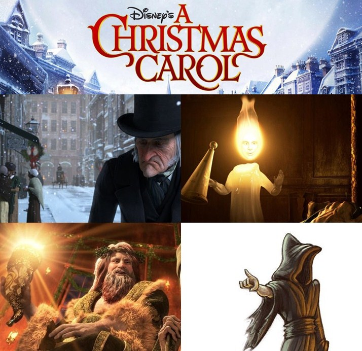 CRNailz: X'Mas Mani 08 - A Christmas Carol
