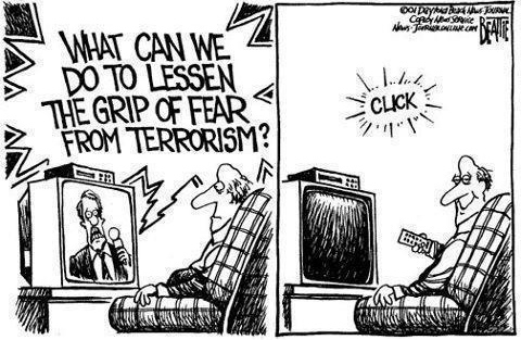 Lose the Fear, Click Off The TV