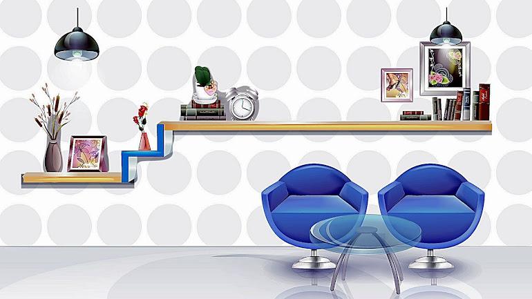 Interior Creative shelf
