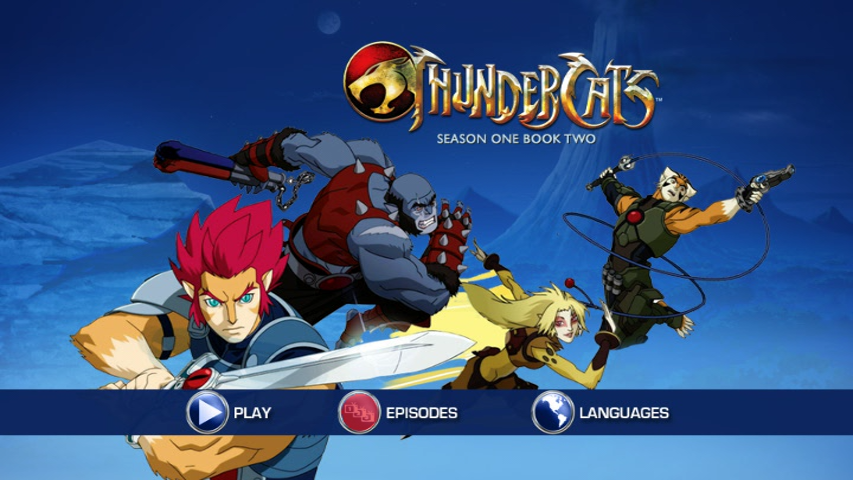 thundercats 2011 DVDR Season 1 Book 1-2