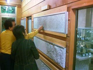 石の百年館(旧館) 展示・表面加工の例3