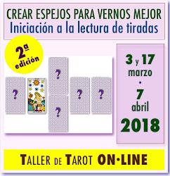 NEW!!!!! Taller ON·LINE de Tarot Evolutivo * 3 PLAZAS DISPONIBLES * Inicio 3 marzo 2018