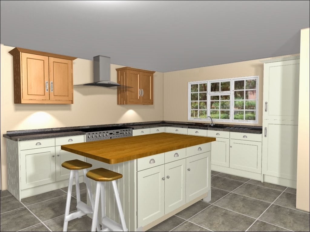 Shaped Kitchen With Island Will Definitely Be An Answer Toovercome