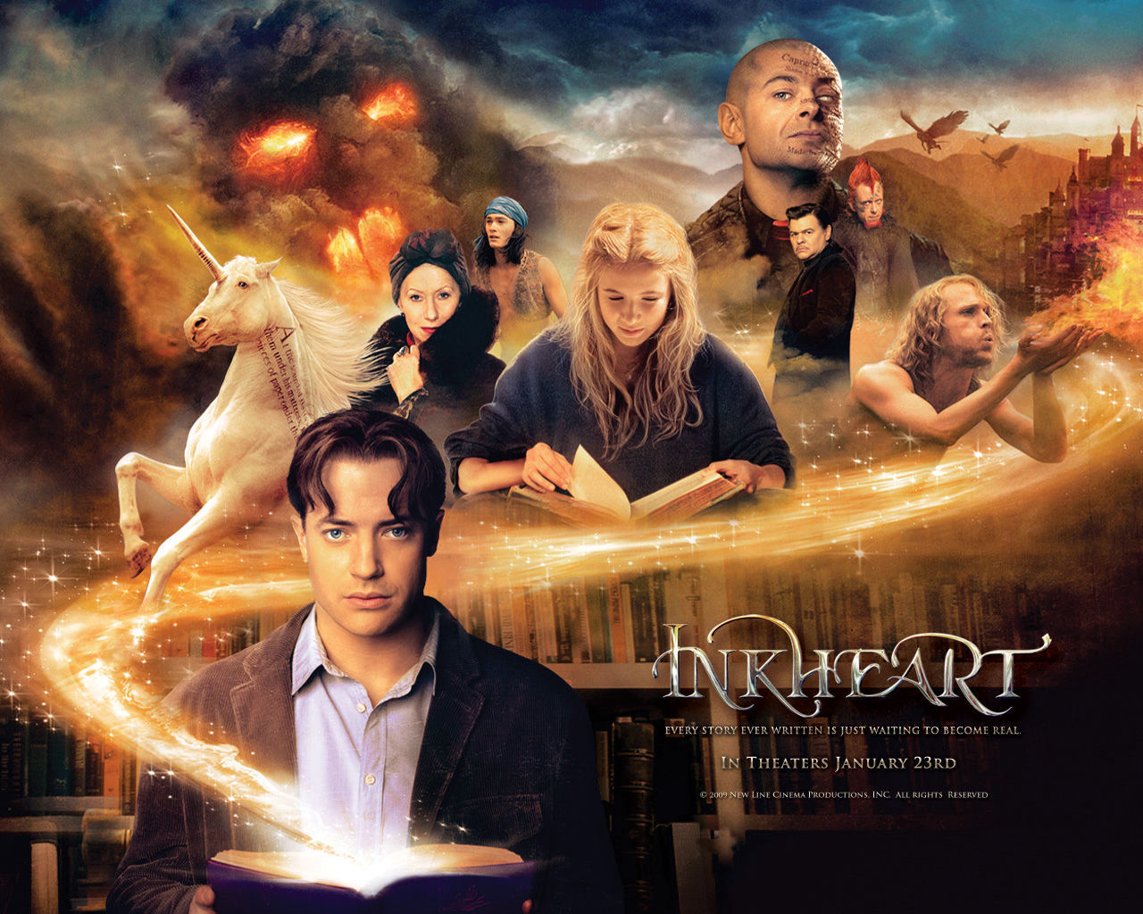 Download Inkheart (Bluray) Subtitle Indonesia