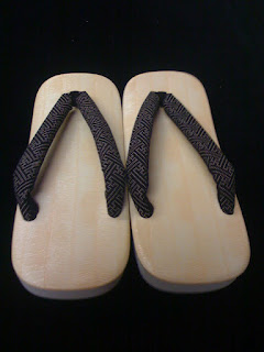 Japanese Sandals from Kimono House NY