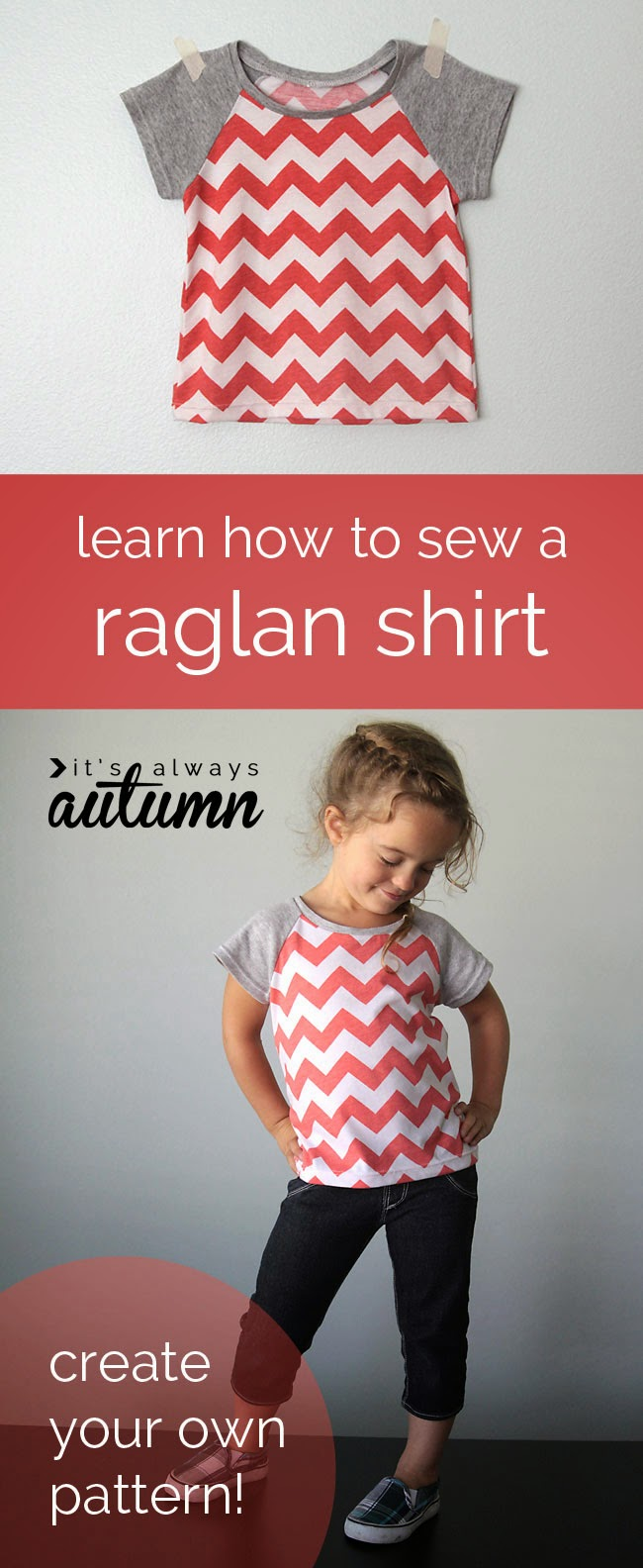 Free sewing pattern for T-shirt