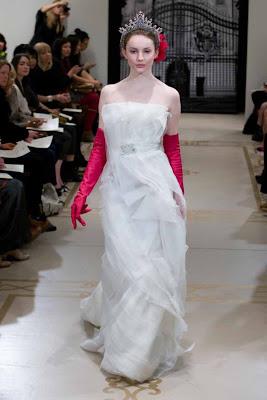 Princess Spring Bridal Gown 2012