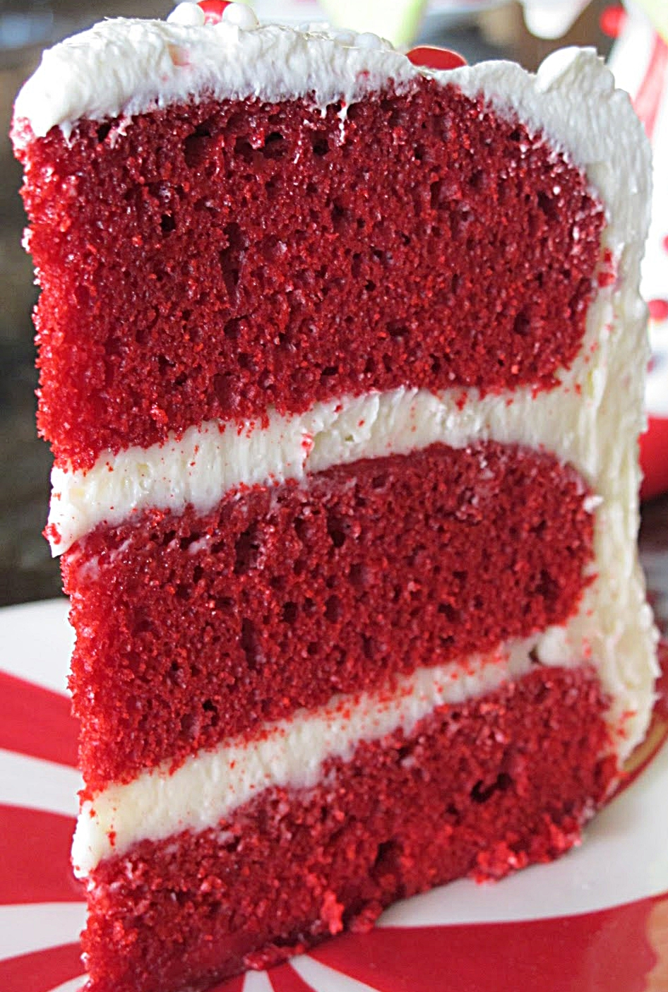 Award Winning Red Velvet Cake - Purple Chocolat Home